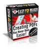 Easy PDF Maker-Make More Money From Your Website