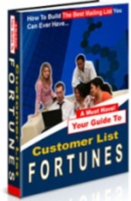 Product picture Customer List Fortunes-Make More Money
